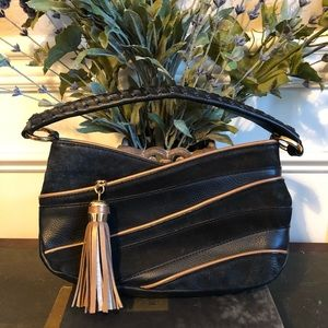 GIANNI BINI Suede Bag